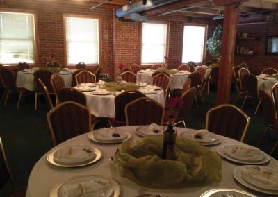 South Apothecary Loft Rehearsal Dinner